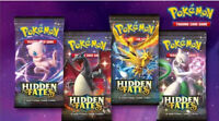 Pokemon TCG Hidden Fates Ten Card Booster Pack Factory Sealed - Random Artwork-