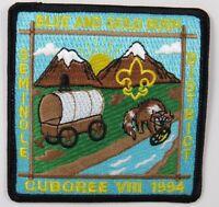 Seminole District 1994 Blue & Gold Rush Cuboree VIII [H3832]