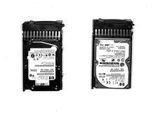 "lot 2x HP 504334-001 504062-B21 146GB 15K 2.5"" SAS DP Dual Port Hot plug SAS"