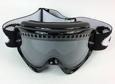 REPLACEMENT GOGGLE-SHOP MOTOCROSS ENDURO DUAL VENT SMOKE LENS fit OAKLEY O-FRAME