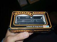 OO gauge Mainline Railways 37-156  GWR Shrewsbury Brake Van Wagon boxed