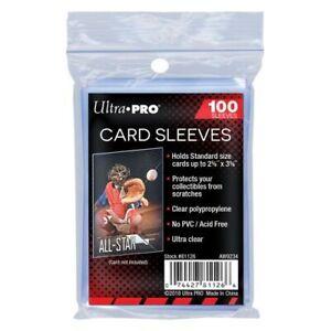Ultra Pro Standard Size Soft Card Sleeves Penny Sleeves 100pk Pokemon MTG