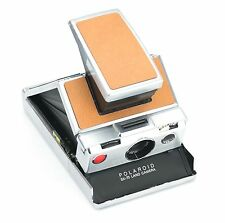Polaroid SX-70 Replacement Skin Cover - Laser Cut Recycle Leather – Pebble