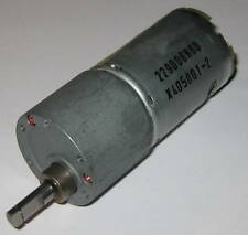 "30 RPM Heavy Duty Gearhead Motor - 12V DC - 3.5"" Long - .25"" Shaft Diameter"