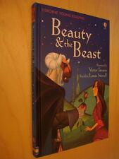 Usborne Young Reading 2 Beauty & the Beast NEUF conte illustré La Belle &la Bête