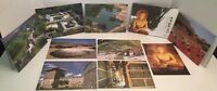 World Cultural Heritage Post Card Lot Of 9 Buddhist / Historical Relics + More