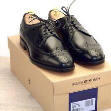 * NIB * $425 Allen Edmonds MCGREGOR 8.5 D Black * new Shoe Trees AE Bags t