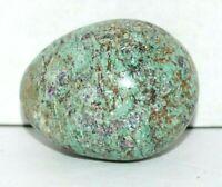 "2 1/4"" Green Color Gemstone Egg Sphere Reiki Chakra Healing Health Stone Sphere"