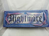 Nightmare VHS Video VCR Board Game Chieftain 1991 Complete