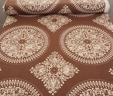 Impressions Fall 2011 Medallion by Ty Pennington BTY Light Tan on Brown