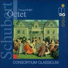 Octet in F - D 803 2013 by Franz Schubert; Consortium Classicum . EXLIBRARY