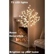 72 LED grandes Rose Tree alegrar su hogar/Elegante Decoración