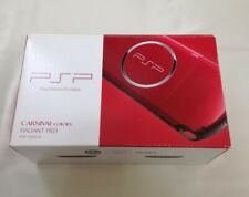 SONY PSP PSP-3000RR PlayStation Portable Console Radiant Red Wireless LAN JP