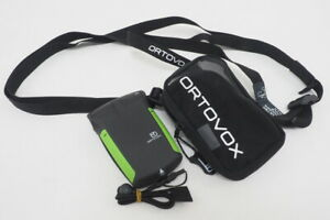 Ortovox Working S1+ Skiing Avalanche Transceiver Green/Black With Carrying Case