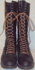 RED WING, MEN'S BLACK LEATHER LINEMAN 16 1/2 IN. BOOT, SIZE 10 1/2 E, USA