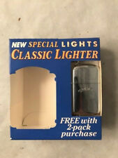 VINTAGE 1992 Joe CAMEL Special Lights, Classic, BRASS Plated LIGHTER. New in Box