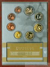 Coinset / Muntset Netherlands Euroset 2001 Prooflike 8 coins
