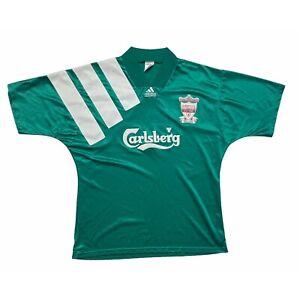 🔥Original Liverpool 1992/93 Away Football Shirt Adidas Vintage - XL🔥
