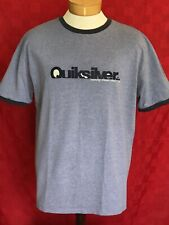 Classic vintage look quicksilver blue T-shirt making waves since 1970 surfer