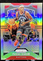 Pascal Siakam 2019-20 Panini Prizm Basketball Silver Prizm Toronto Raptors