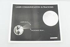 Vintage NASA Press Photo Laser Communication & Tracking V91