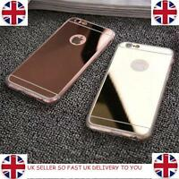 Iphone I Phone Cover Luxury Ultra-thin Mirror Metal Case for Apple Protective