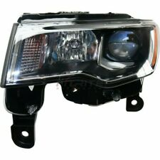 NEW LEFT HALOGEN HEADLIGHT ASSEMBLY FOR 2017-2018 JEEP GRAND CHEROKEE CH2502297