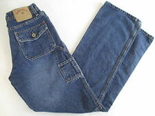 HYDRAULIC Size 5/6 Boot Cut Carpenter Flap Back Pocket Jeans #586B FREE SHIPPING