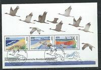 """Allemagne Fédérale Bloc N°35 (FU) 1996 - Parc nationaux """"oiseaux"""""""