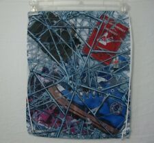 Spider-Man Web Print Cinch Bag Drawstring Back Pack Marvel Loot Crate Excl
