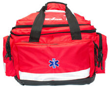 *FREE PRINTING Red Large Emergency First Aid Paramedic Holdall Trauma EMT Bag