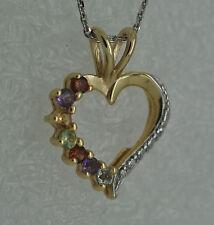 Markenlose Echte Edelstein-Halsketten & -Anhänger aus Sterlingsilber mit Blautopas für Damen