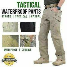 Calça Impermeável Tático Soldado carga masculino casual calças de combate Caminhadas Ao Ar Livre