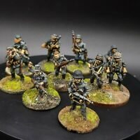 Painted 28mm Bolt Action German grenadier/volksgrenadier ×10 Squad #1