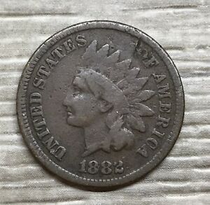1882 Indian Head Cent ~ Nice Detail (I110)