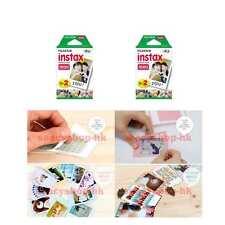 4 Pack Fujifilm Instax Mini Film 40 Pcs Mini 9 8 25 7S 50s 100 SP-1 Instant