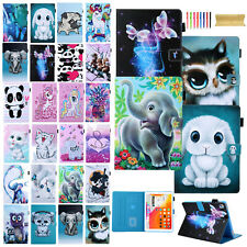 """Cute Pattern Leather Stand Smart Cover Case For iPad 10.2""""/6th/Air 2/Mini/Pro"""