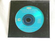 RYUICHI SAKAMOTO Jungle Live Mix of Untitled 01 promo only CD single YMO Riuichi