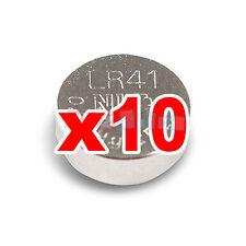 AG3 2012 LR736 10 1,5v PILE LR41 192 BATTERIA OROLOGIO SR41W 392 SR41SW GP92A pa