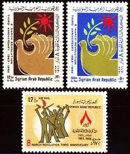 Syria Syria 1966 * mi.931/33 Revolution