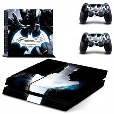 Superman Dawn of Justice Skin Vinyl Sticker for the PlayStation 4 Console PS4