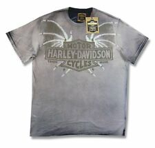 Harley Davidson Trunk LTD Short Tail Sweep Mens Grey T Shirt New Official NWT