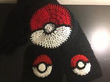 Pokémon Pokeball Beret Hat & Scarf Set