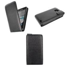 Groov-e GVGALAXYS3FLBK Genuine Leather Flip Case for Samsung Galaxy S3
