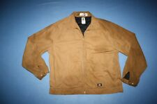 Dickies Jacket quilted lining brown canvas size XLT