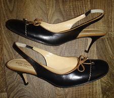 Kate Spade Size 7.5 Sling Back Leather Heels