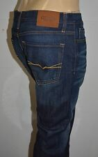 GUESS JEANS New Men's sz 32 GUESS Maxwell Slim Straight Leg Jeans - MID WASH
