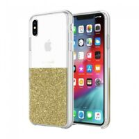kate spade new york clear tough Case for iPhone XS Max - Gold/Clear Inlay