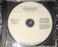 Kenwood KPG-111D Version 5.21 Program Software For Radio NX-410 NX-411 NX-900 +