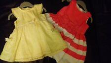 TOMMIE & BONNIE X 2 Girls Summer Dresses -NEW RRP £8.99 each